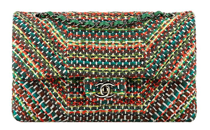 Chanel-Cruise-2016-Woven-Classic-Flap-Bag