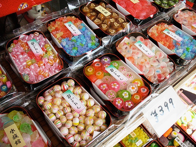Assorted candy and sweets