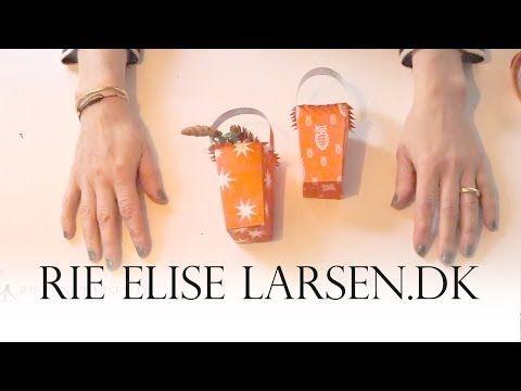 Rie Elise Larsen Gran- og godtekurv - YouTube