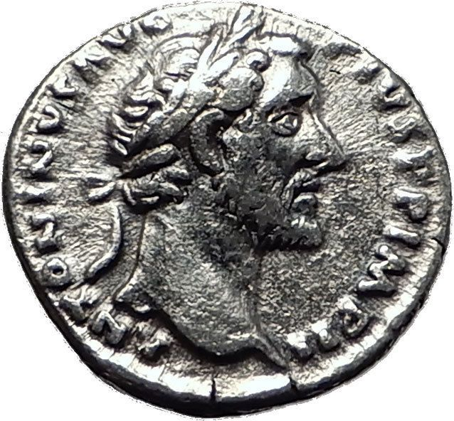 Item specifics    									 			Ruler:   												Antoninus Pius  									 			Composition:   												Silver   							 							  ANTONINUS PIUS 155AD Authentic Ancient Silver Roman Coin SALUS HEALTH i59012  Price : $114.75  Ends on : 4 weeks Order Now