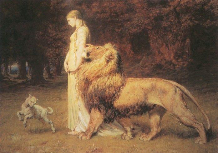 una & the lion