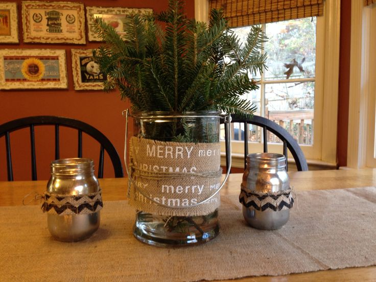 Kitchen table centerpiece holiday pinterest seasons for Small kitchen table centerpiece ideas