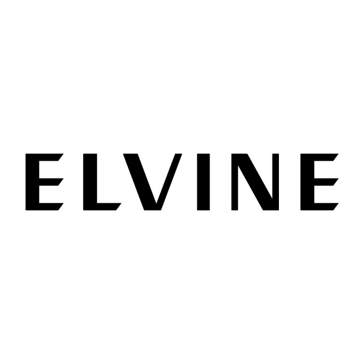 Logo by BankerWessel for Elvine, clothing company from Gothenburg, Sweden.