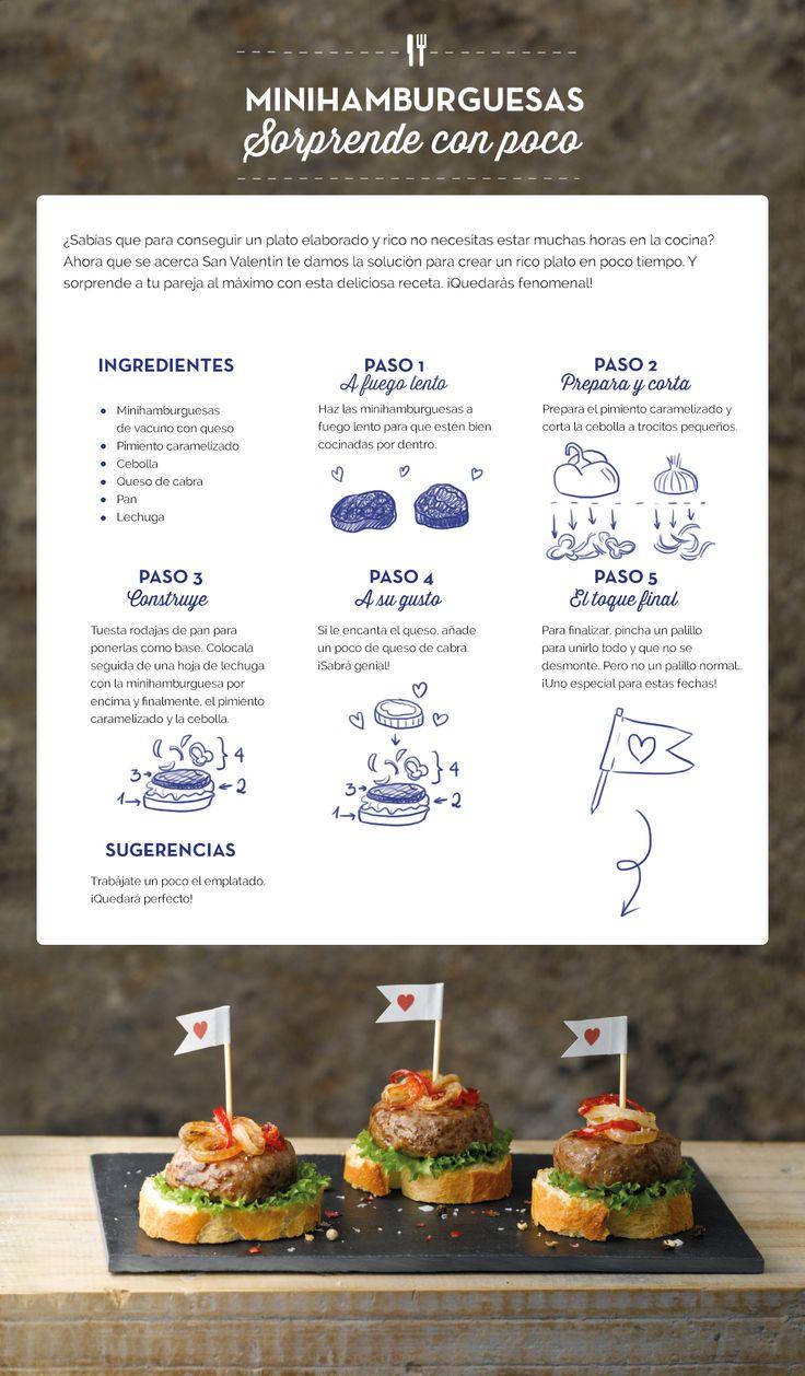 Minihamburguesas, ¡sorprende con poco! #RecetasALDI