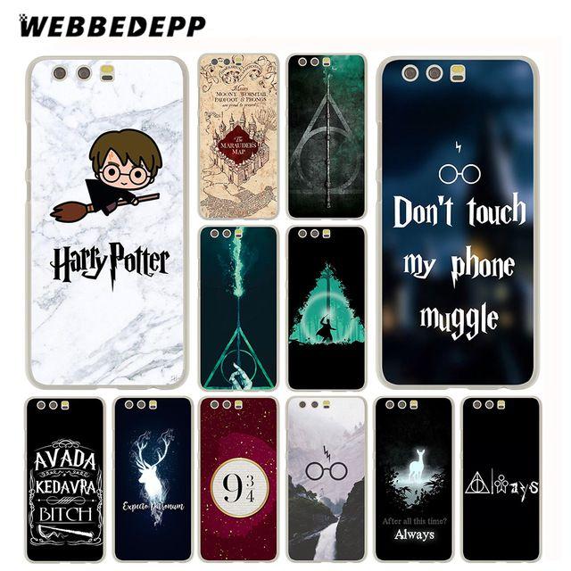 WEBBEDEPP Harry Potter Case for Huawei P20 P10 P9 P8 Lite Plus Pro ...