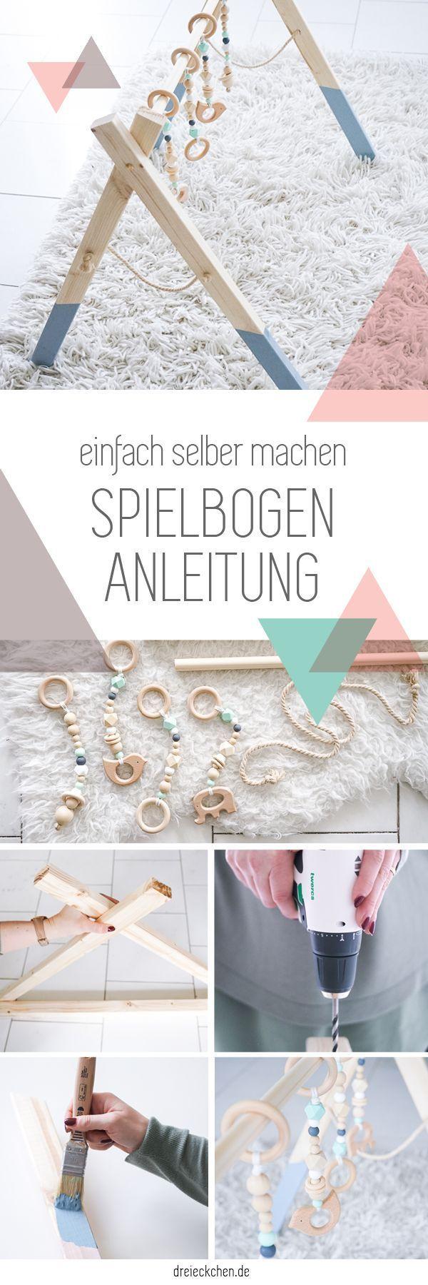 DIY Arcade-Anleitung als Geschenk zur Geburt. Schöner Bogen von …   – DIY Ideen und DIY Projekte