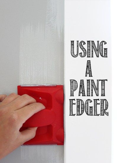 Using a Paint Edger
