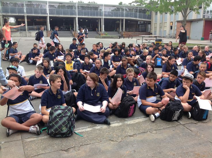 Year 7- (Getting our new Timetables)