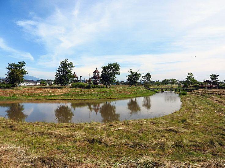 ぐるりと水路。なんだかのんびりしたくなる公園【中之口農業体験公園:新潟県】