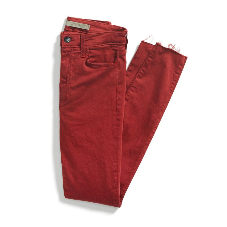 Stitch Fix Fall Stylist Picks: Red Denim....I would love some....if you could find some long enough?!?