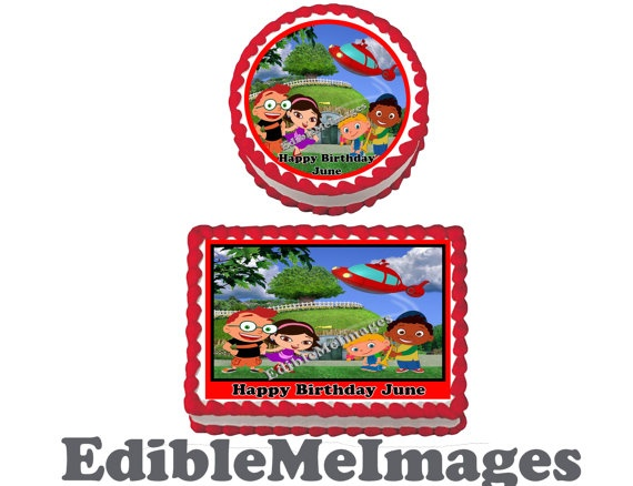 DISNEY LITTLE EINSTEINS Birthday Party by CustomEdibleMeImages, go on cake or cupcakes  $8.50