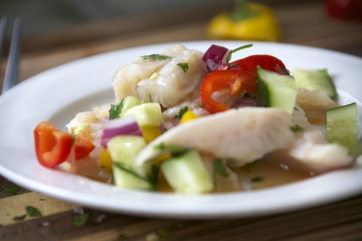If you like spice then you will love this Sriracha Tilapia Ceviche!