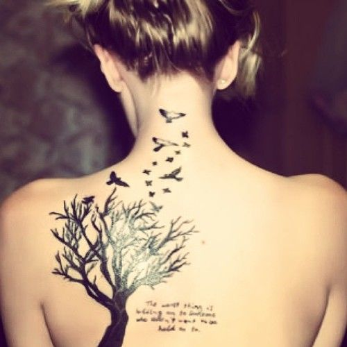 Girls Back Tattoos - Tattoo Shortlist