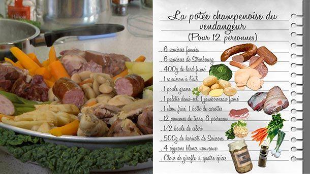 Les Carnets de Julie - la Potée champenoise - France 3