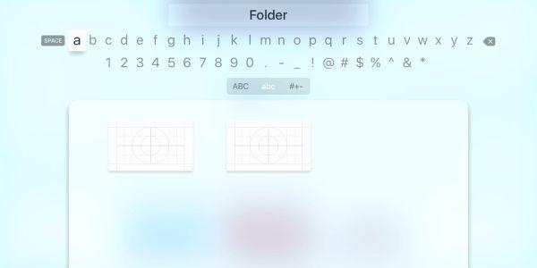 Apple TV tvOS hacked to show iOS-like app folders