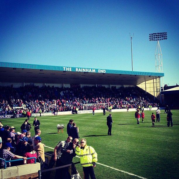 MEMS Priestfield Stadium in Gillingham, Kent