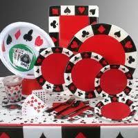 Stort udvalg af festartikler til din Casino temafest. Vi har flotte tallerkener, kopper, servietter, duge, bordpynt, dekorationer og sjovt tilbehør.