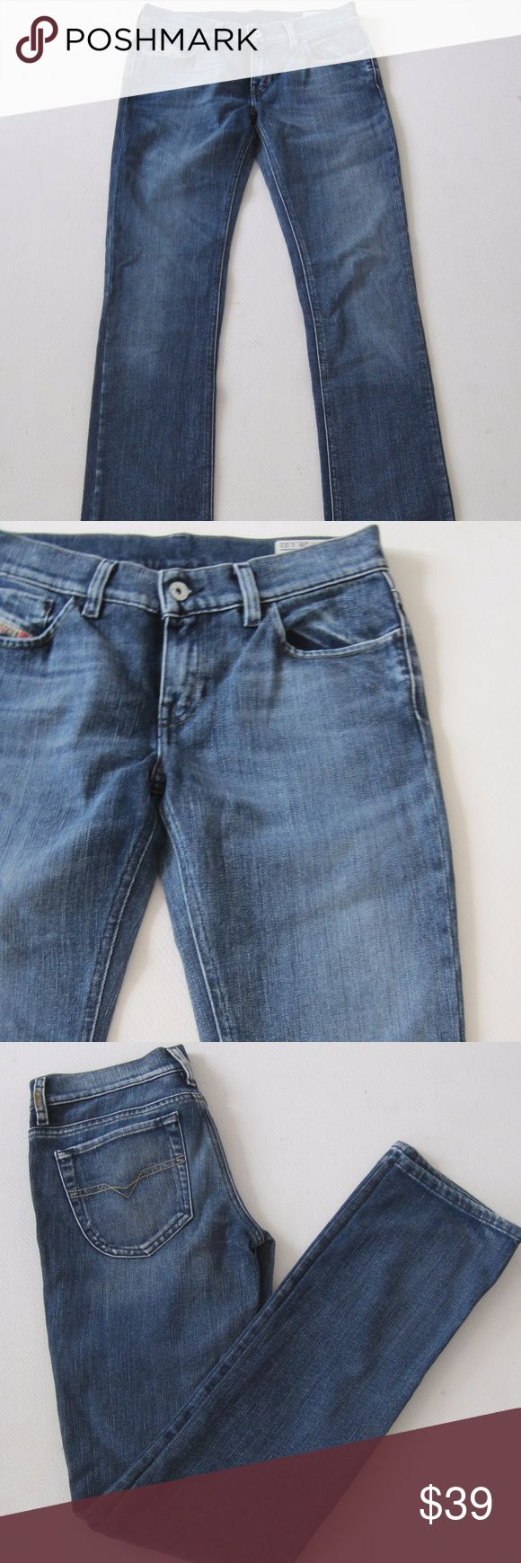 Diesel Liv Industry Jeans Bootcut Dark Wash Casual Diesel Liv Industry Womens Jeans Size 28/32 Bootcut Dark Wash Casual   gently worn A5711kt10 Diesel Jeans Boot Cut