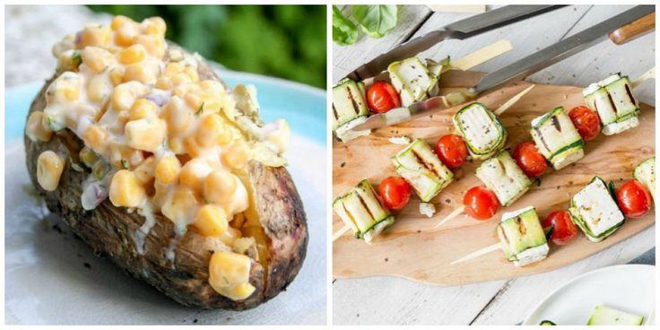 15 vegetarische barbecue-ideetjes om deze zomer uit te proberen