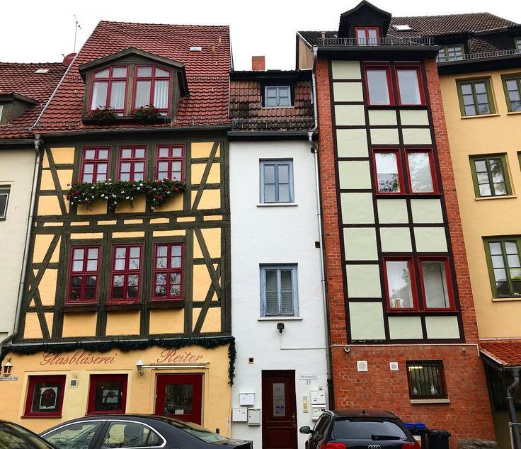 Ad - Tiny WHITE house in Erfurt Germany #danishadventurer #CitybreakGermany #deinThüringen #visitThuringia