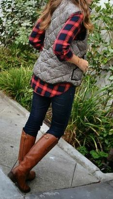 Fall Outfits, Layers, and Color.