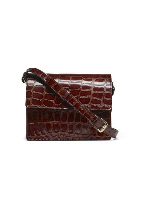 Ganni Festive |Gallery Accessories Bag, Soil Croco