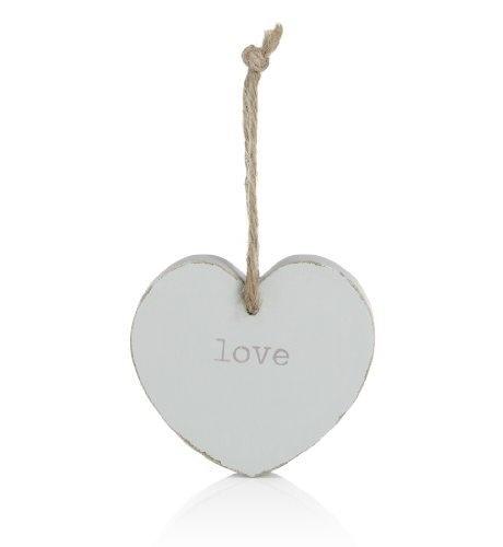 Heart plaque ornament