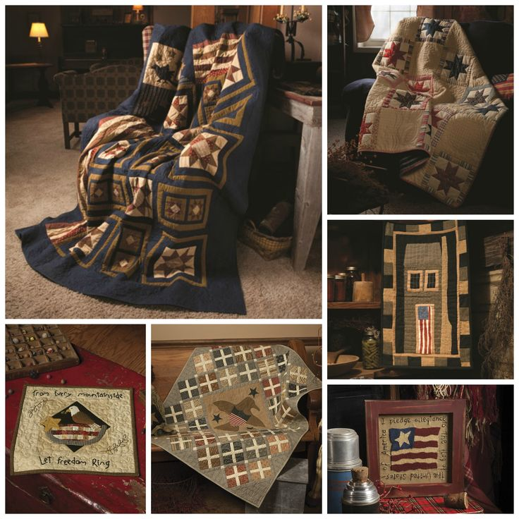 11 best Country Charm images on Pinterest | Country charm ... : primitive quilts and projects - Adamdwight.com