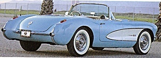 "1957 Chevy ""Vette""    Still not selling to the masses with just over 6000 built  the Corvette apealed to the sports car enthusiats,  but simply having such a sexy car in its lineup gave Chevrolet a boost in sales     Cost: $3,780.00"