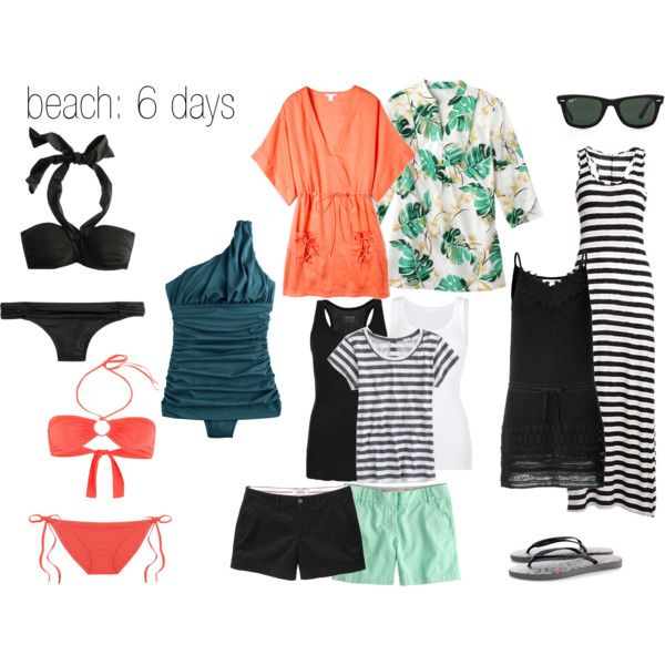 """Small Suitcase Beach Vacation"" by cardiganjunkie on Polyvore"