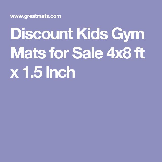 discount kids gym mats for sale 4x8 ft x 15 inch