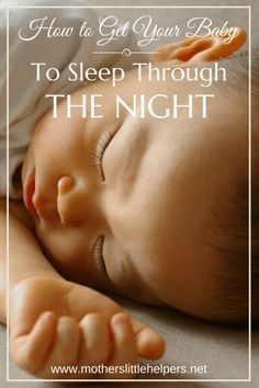 "Has sleep deprivation become normality?  Check out ""How to Get Your Baby to Sleep Through the Night,"" to find unique tips that help you stop the endless cycle."