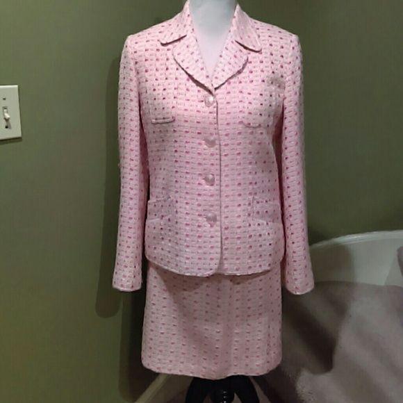 J. G. Hook Skirts - 2-Piece Tweed Suit