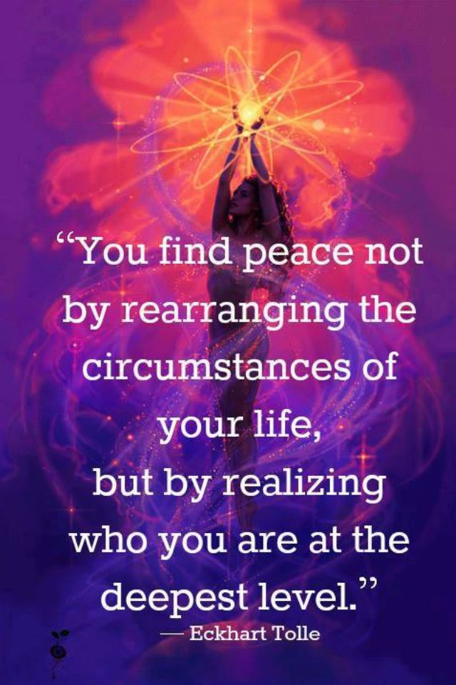 Eckhart Tolle on Peace