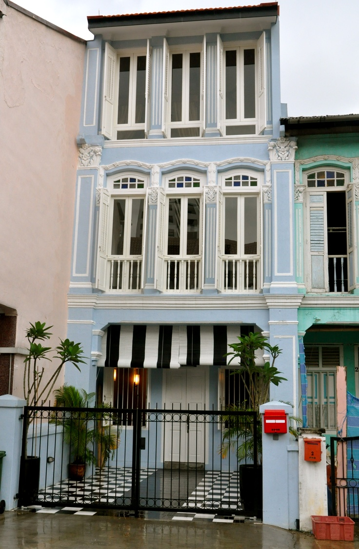 25 best ideas about shophouse on pinterest narrow house for Terrace 9 classic penang