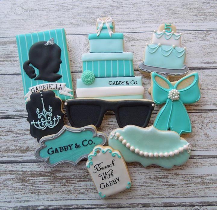 ♔ Breakfast at Tiffany's cookies