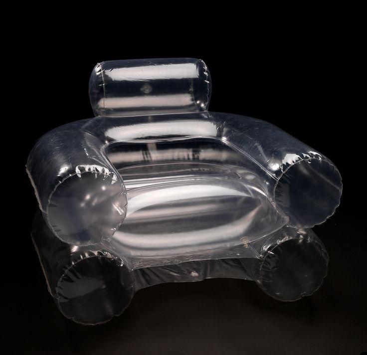 Inflatable plastic 'Blow Chair', by De Pas, D'Urbino, Lomazzi for Zanotta, 1967.