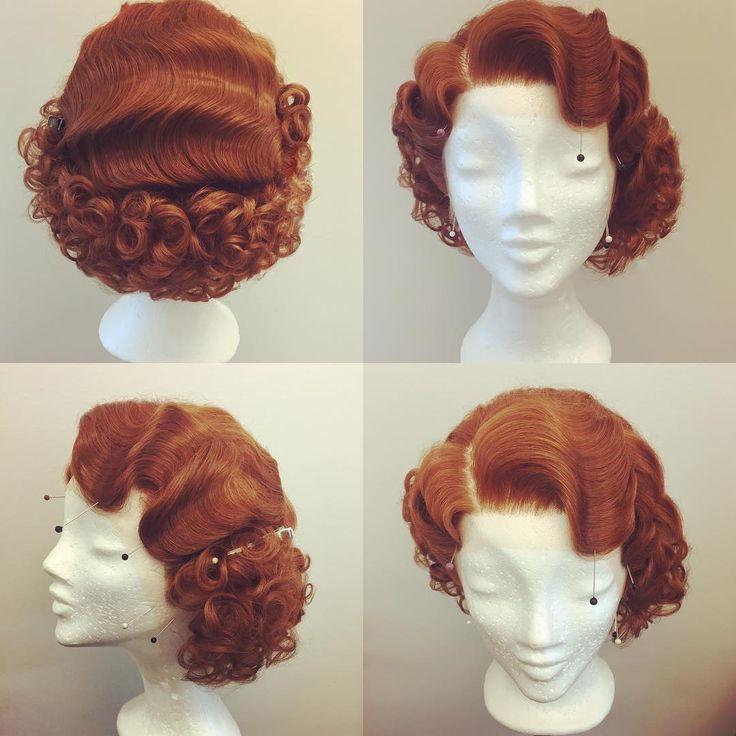 Another wonderful shade!  #cabelo #Dragqueen #Drag #InstaDrag #Instagay #vintage #retro #pinup #vintagehair #retrohair #pinuphair #wig #hair #wigstyling #redhair #hairstyling #brasil #makeup #makeupaddict #mua #Vienna #Burlesque #hair #myart#30s#hairstyle #wigmaker #wigmaster #burlesque #vintagestyle #hair #brasil #austria