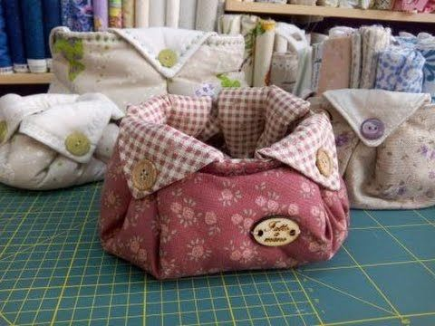 DIY Makeup trousse - cucire una pochette - YouTube