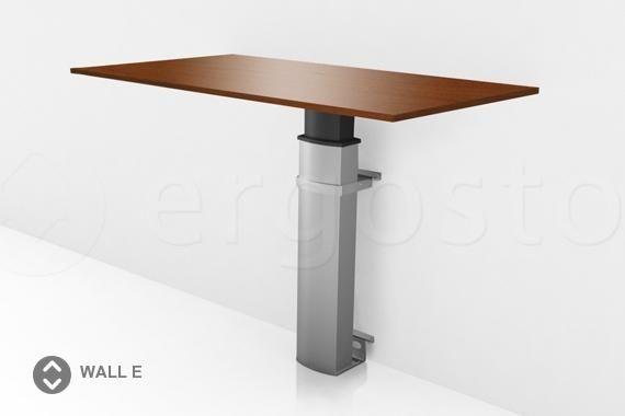 Настенный стол ErgoStol Wall E с подъемным механизмом для работы стоя