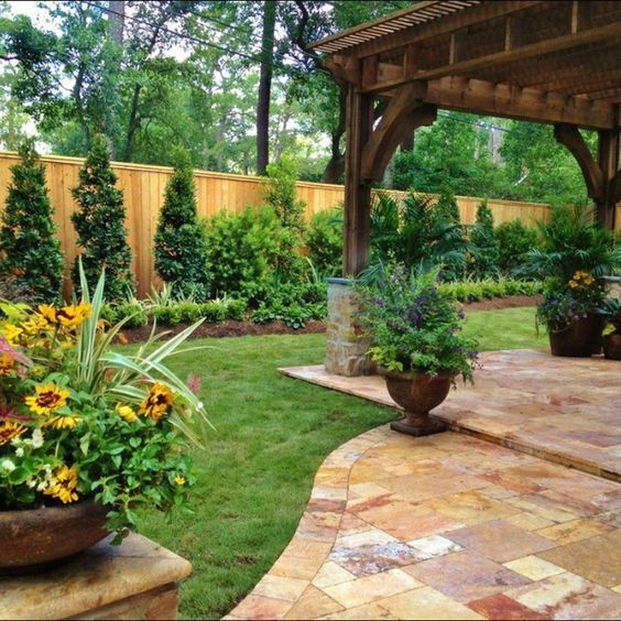 75 brilliant backyard landscaping design ideas - Landscaping Design Ideas