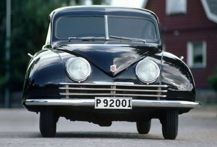 """Ursaab"" Saab 92 chassis 92001, the first built."