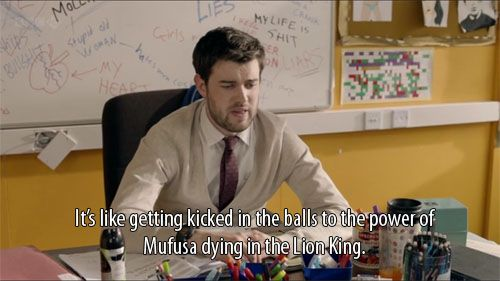 bad education- Jack Whitehall loves Lion King for real