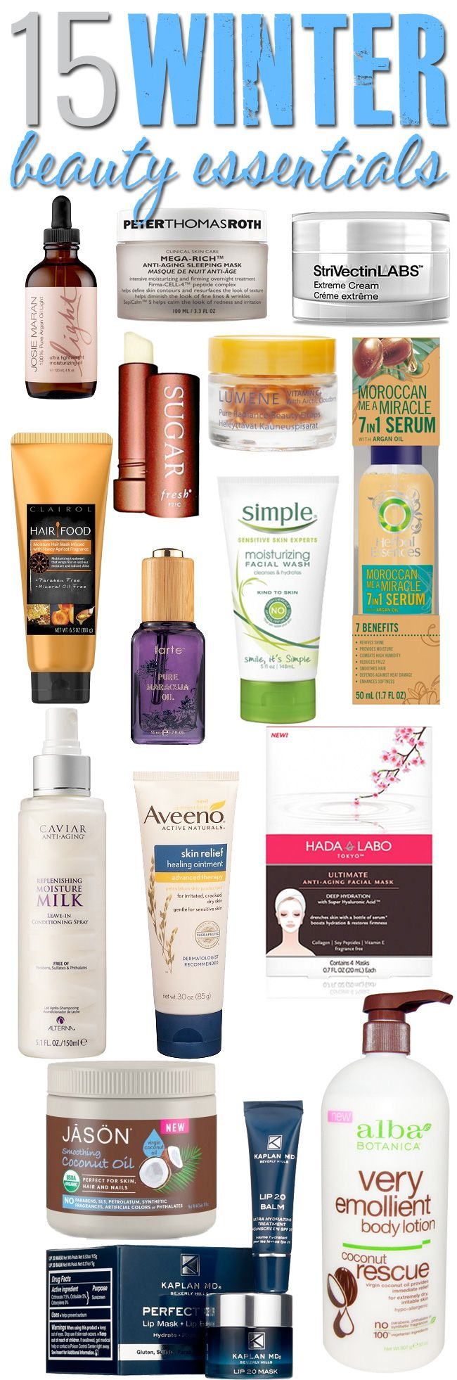 15 Top Winter Beauty Essentials