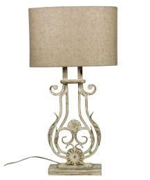 Bordlampa Provence Vit 52Cm
