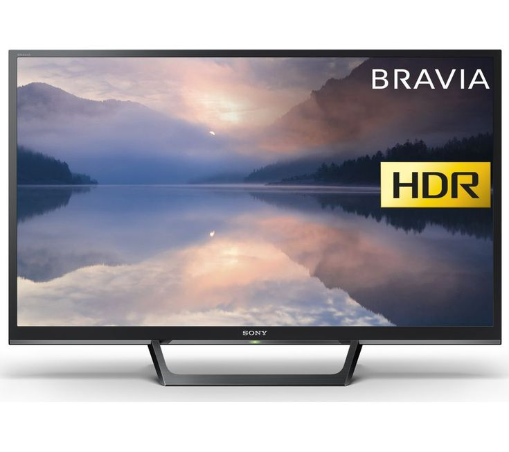 "Buy 32""  SONY BRAVIA KDL32RE403BU  HDR LED TV Price: £249.00 Top features:- Enhanced picture quality with HDR to bring out the detail- X-Reality PRO and Motionflow XR improve clarity and smoothness- Record to USB from the TV's Freeview HD tuner- Edge-to-edge screen with slim frame lets you see more pictureHDRWhether you're playing the latest console games or watching HD content from your set..."
