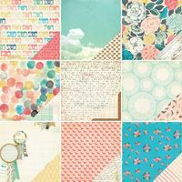 Styleboard from Crate Paper. CHA-W 2014