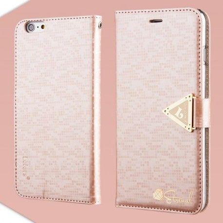 Apple iPhone 6 Plus Vaaleanpunainen Leiers Kotelo  http://puhelimenkuoret.fi/tuote/apple-iphone-6-plus-vaaleanpunainen-leiers-kotelo/