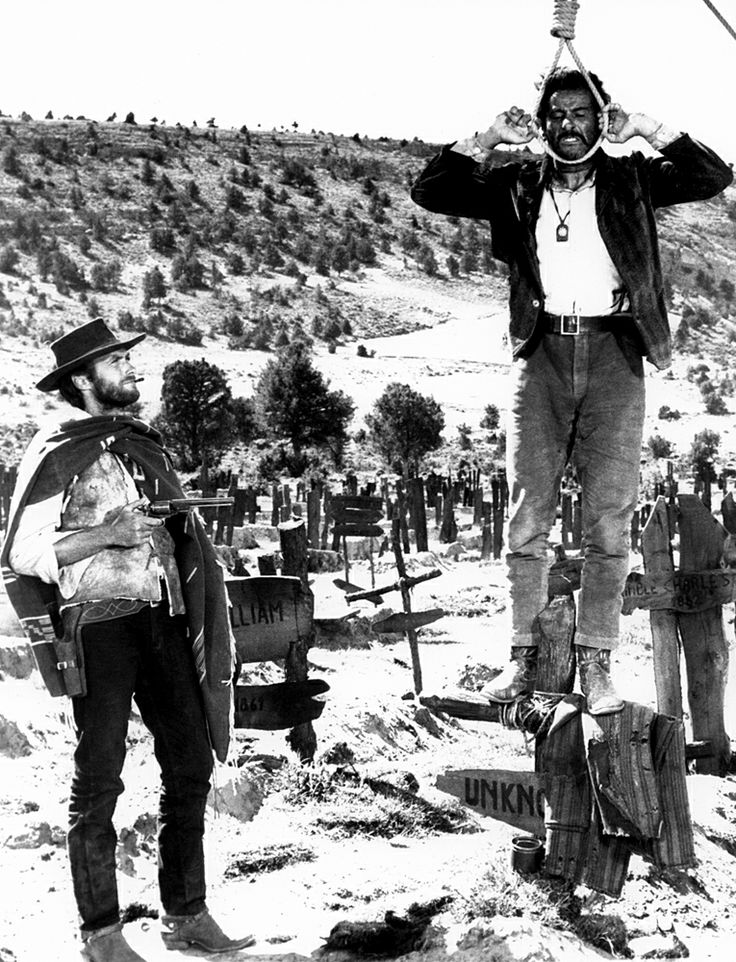 Clint Eastwood & Eli Wallach in The Good the Bad and the Ugly