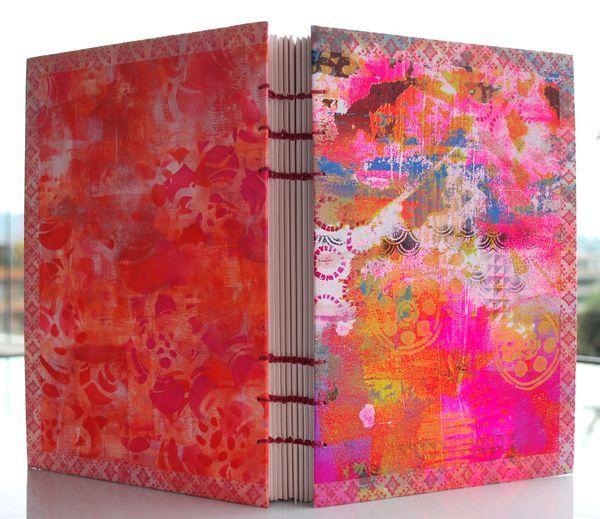 Handbound journal by Lizzy Wurmann G.